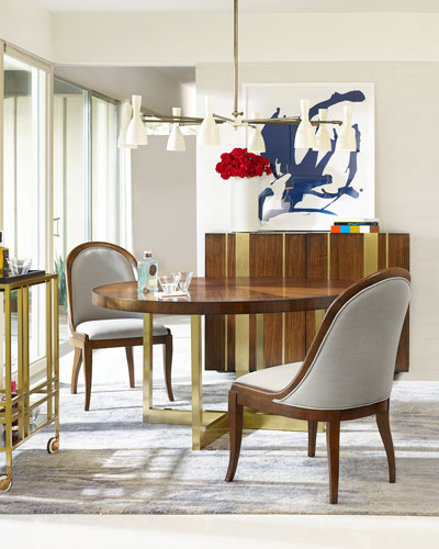 Dining Tables : Round & Outdoor Dining Tables At Neiman Marcus