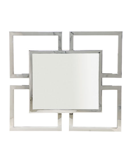 Bernhardt Delaney Greek-Key Mirror