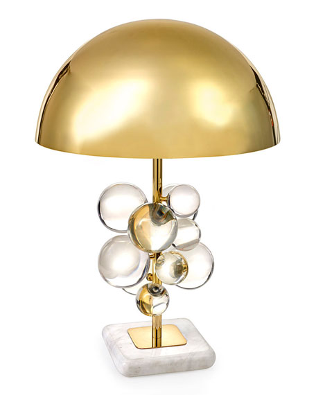 Jonathan Adler Globo Clear Table Lamp