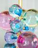 Image 3 of 4: Globo Multicolor Table Lamp