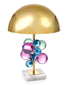 Jonathan Adler Globo Multicolor Table Lamp