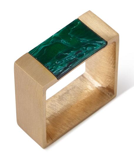 Kim Seybert Gem Block Napkin Ring