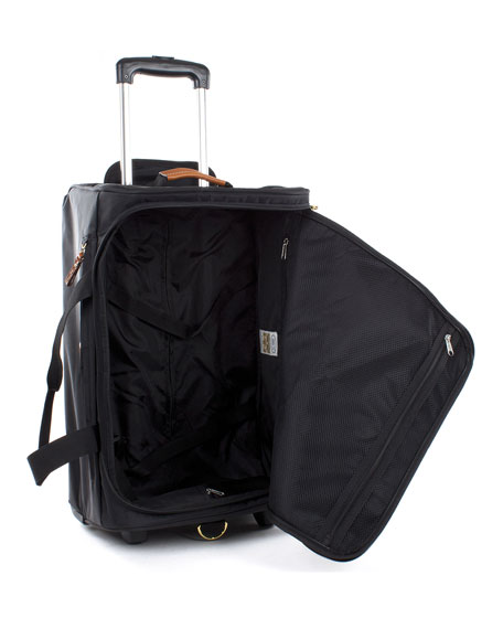 "Black X-Bag 21"" Carry-On Rolling Duffel"