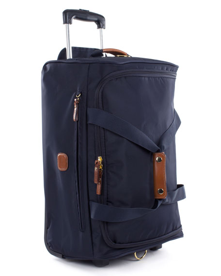 "Navy X-Bag 21"" Carry-On Rolling Duffel"