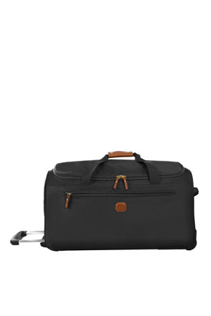 "Bric's Black X-Bag 28"" Rolling Duffel Luggage"