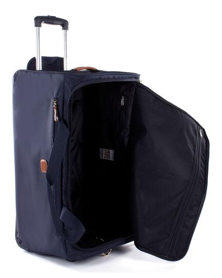 """Navy X-Bag 28"""" Rolling Duffel Luggage"""