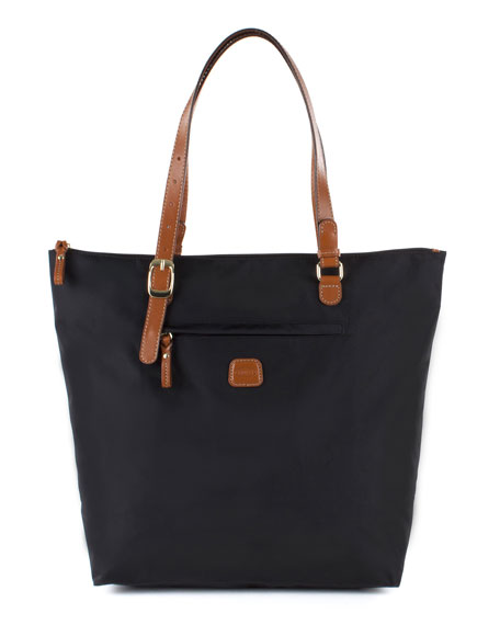 Bric's Black X-Bag Large Sportina Shopper