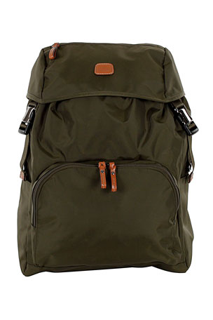 Bric's Olive X-Bag Excursion Backpack