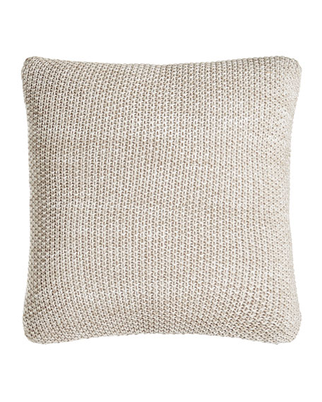 SFERRA Watercolor Knit Pillow, 18