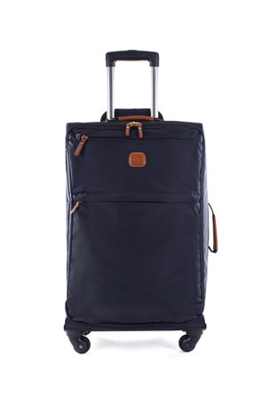"""Bric's Navy X-Bag 25"""" Spinner Luggage"""