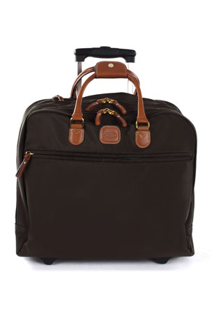 Bric's Black X-Travel Pilotcase Luggage