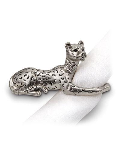 Jaguar Napkin Rings, Set of 4