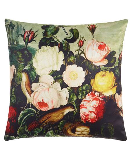 Thornton Roses Pillow