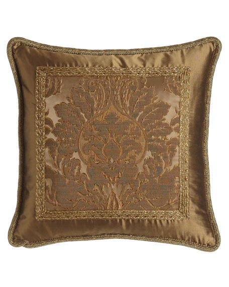 "Regency Pillow, 19""Sq."