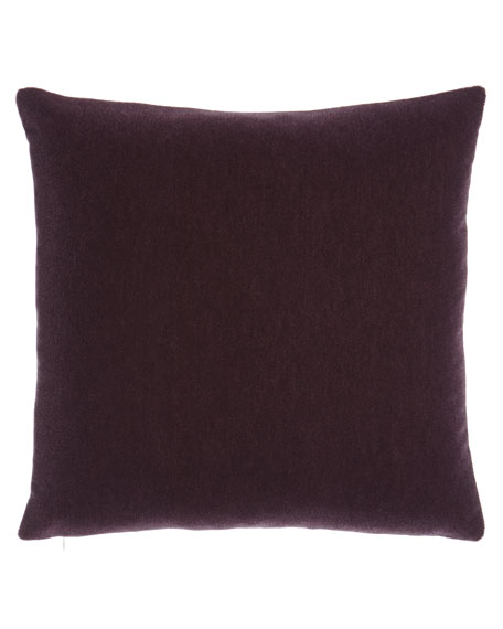Eastern Accents Bach Boysenberry Mohair Pillow