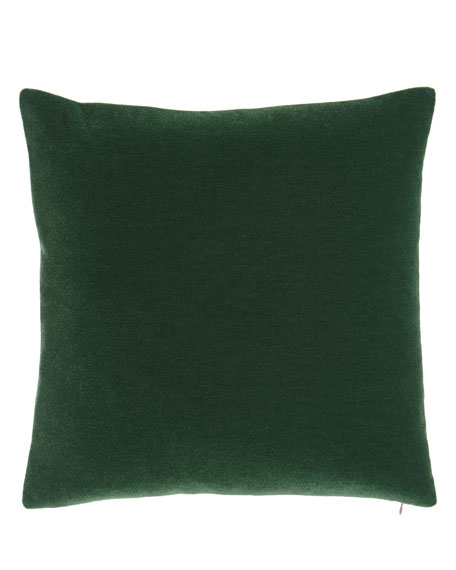 Bach Emerald Mohair Pillow
