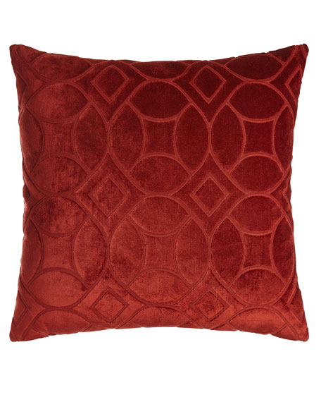 D.V. Kap Home Modern Twist Orange Pillow