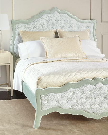 Sorbonne Tufted King Bed