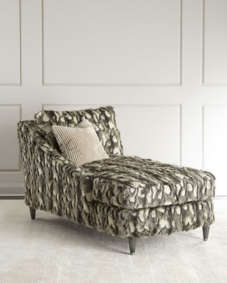 Nash Faux-Fur Right-Arm Chaise