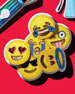 Emoji Coasters, 6-Piece Set
