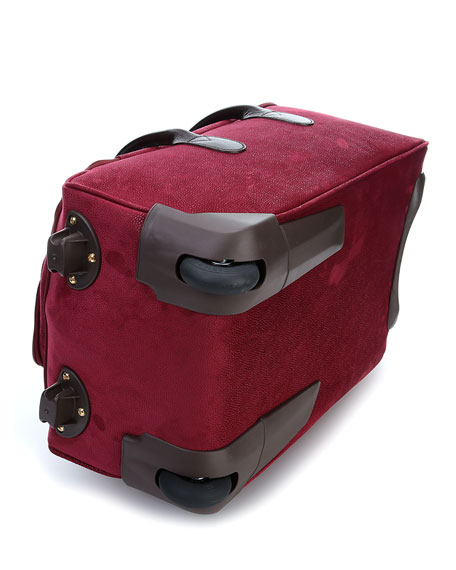 Life Garnet Carry-On Rolling Duffel Luggage