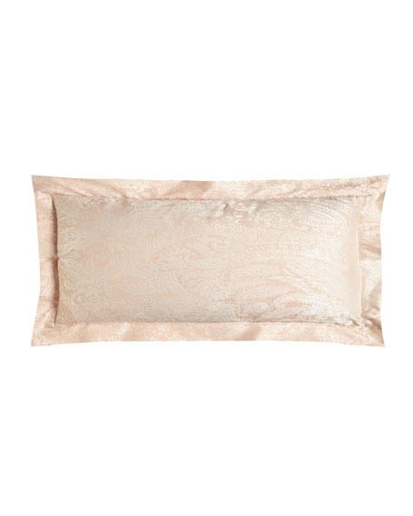 Annie Selke Luxe Primavera Paisley Boudoir Pillow, 12