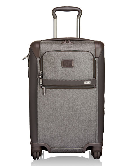 Tumi Alpha 2 Earl Grey International Carry-On Luggage