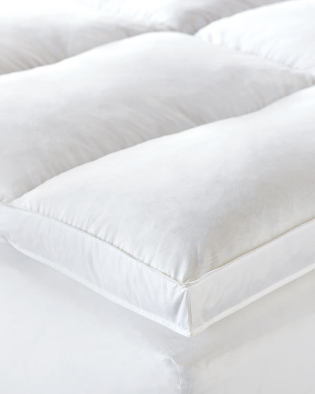 Full Allendale Faux-Down Mattress Topper