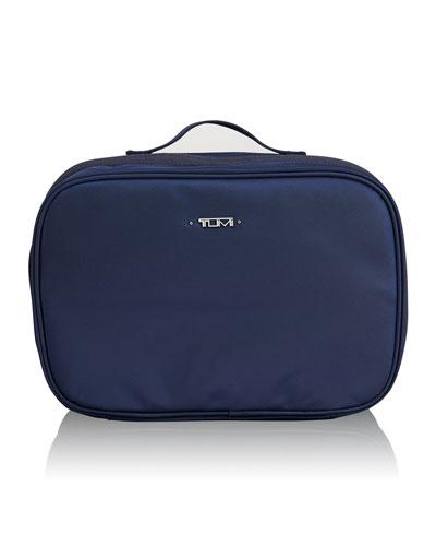 Voyageur Lima Indigo Travel Toiletry Kit