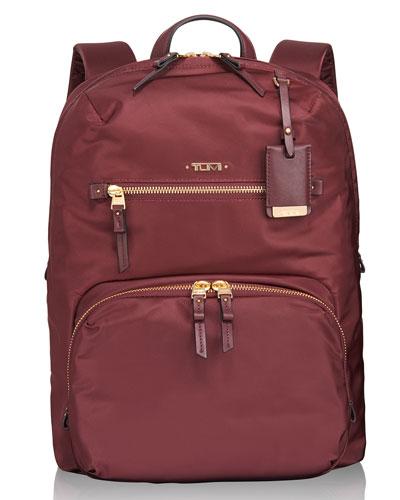 Voyageur Merlot Halle Backpack
