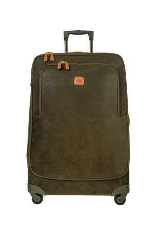 "Bric's Life Olive 32"" Spinner Luggage"