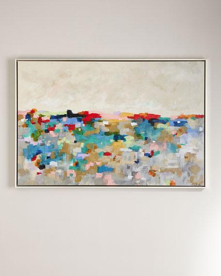 """""""Mosaic Color Garden"""" Giclee"""
