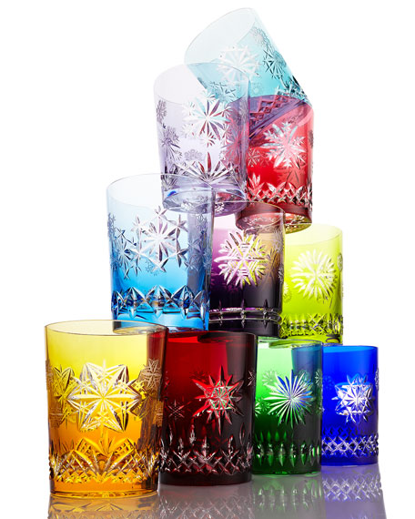 Snowflake Wishes Cased Double Old-Fashioneds, 10-Piece Set