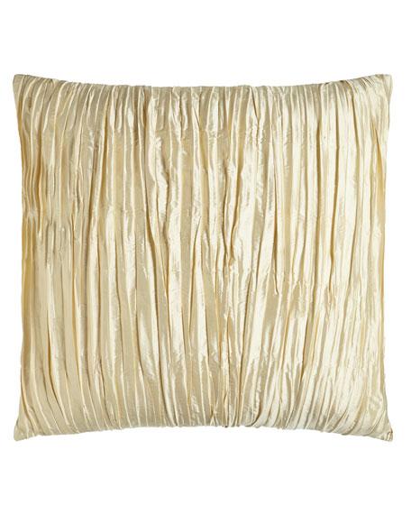 European Primrose Crushed Silk Sham