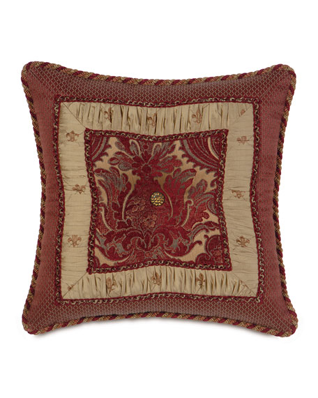 Barrington by Eastern Accents Barrington Border-Collage Pillow,
