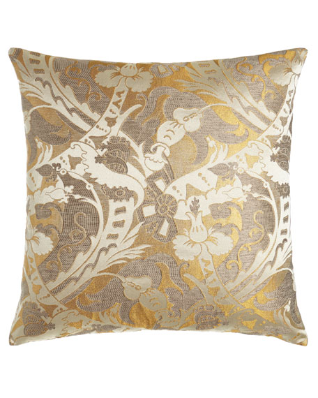 "D'Or Fancy Pillow, 26""Sq."