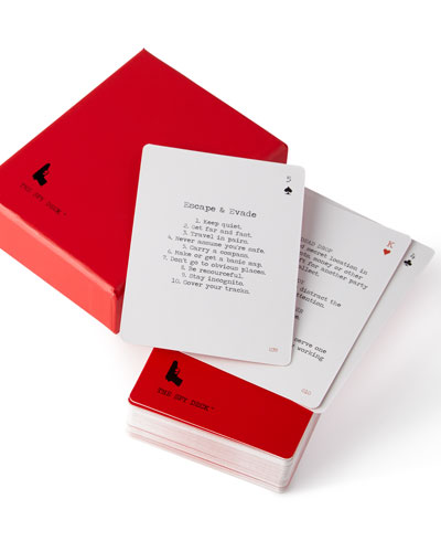 The Spy Deck Playing Cards
