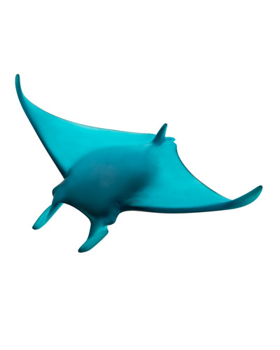 Small Manta Ray Sculpture