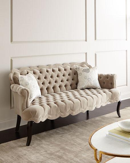 Rebecca Tufted Sofa