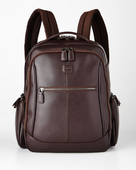 Bric's Varese Brown Large Executive Backpack