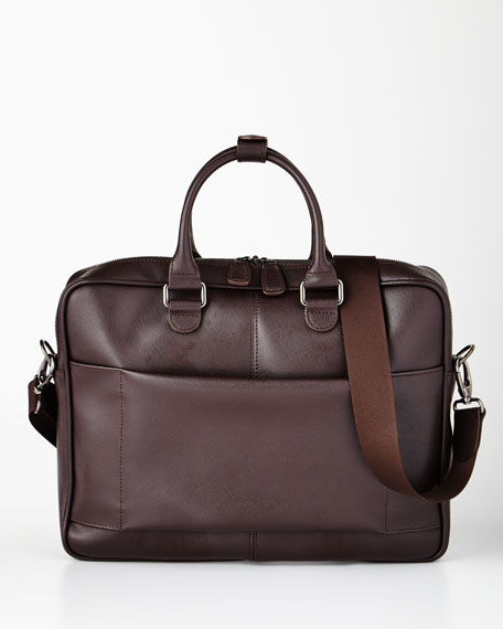 Bric's Varese Brown Briefcase