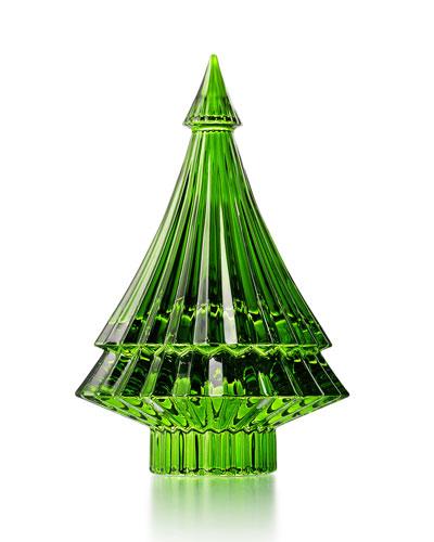 Green Noel Fir Tree Figurine