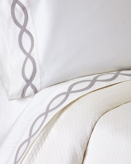 Queen Arcadia 340TC Sheet Set