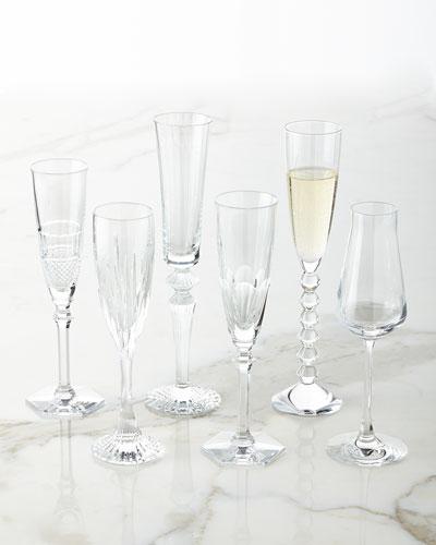 Champagne Flutes, 6-Piece Set