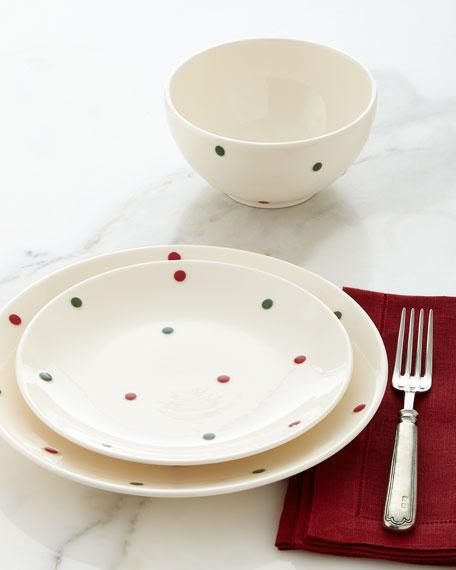 12-Piece Polka-Dot Dinnerware Service & 12-Piece Polka-Dot Dinnerware Service | Neiman Marcus