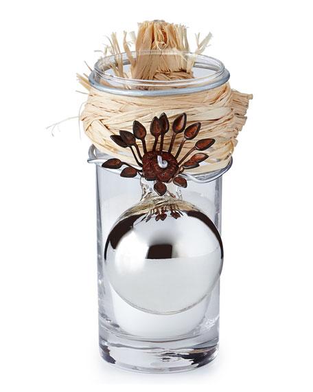 Adelita Platinum Holiday Candle