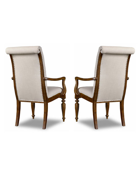 Cecile Dining Armchair, Pair