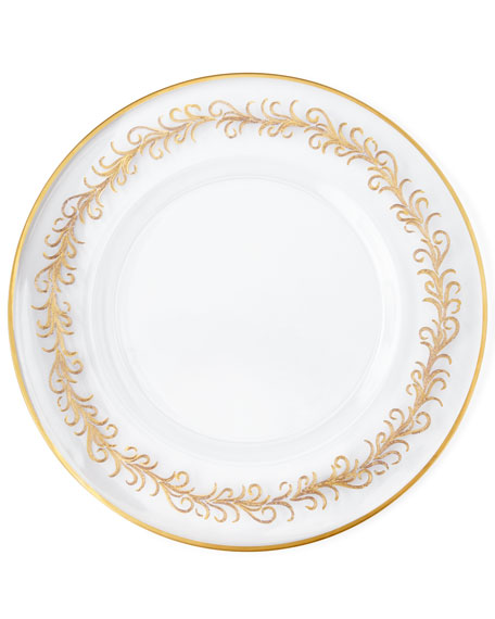 """""""Oro Bello"""" Charger Plates, Set of 4"""