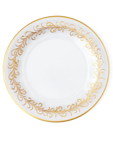 """Oro Bello"" Dessert Plates, Set of 4"
