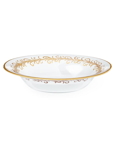 """Oro Bello"" Soup Bowls, Set of 4"